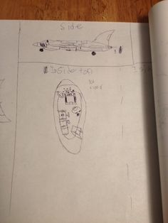 Ethan's plane that he designed