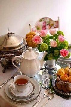 .Chá com carinho!