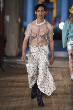 Male Fashion Trends: Neith Nyer Spring-Summer 2018 | Paris Fashion Week