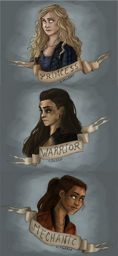 The Princess, the warrior and the mechanic by RiTTa1310.deviantart.com on @DeviantArt