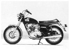 Trident T150 750, 1972