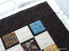 Great tips for marking a free-motion quilting motif on your quilt.    The Quilt Yarn: Progress