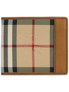 BURBERRY house check small wallet. #burberry #wallet