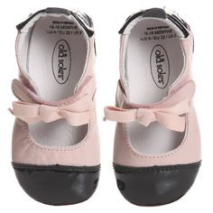 Pink Leather Baby Shoes - Baby & Toddler - Shoes   Childrensalon