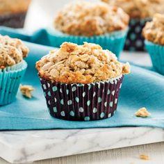 Muffins aux bananes, garniture à l'avoine et à l'érable - Recettes - Cuisine et nutrition - Pratico Pratiques