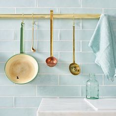 We offer an array of glazed ceramic & porcelain tiles at Mandarin Stone in lustrous shades, from subtle neutrals to gleaming pastels. Buy online here. Blue Green Bathrooms, Tile Care, Stone Kitchen, Kitchen Tiles, Kitchen Design, Kitchen Decor, Mandarin Stone, Natural Stone Flooring, Houses