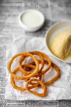 Fried Buttermilk Onion Rings with Paprika | Vaniglia Cooking