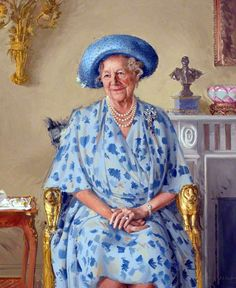 Andrew Festing MBE PPRP (b.1941)  — Her Majesty Queen Elizabeth the Queen Mother,  1991 :  The Royal Society of Musicians of Great Britain,  London  UK  (800×979)