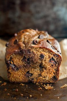 This One Bowl Greek Yogurt Pumpkin Bread recipe is made without butter, oil, or…