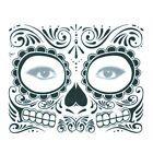 Tag der Toten Dia De Los Muertos Gesichtsmaske Sugar Skull Tattoo Make up Temporary Face Tattoos, Temporary Tattoo Sleeves, Fake Tattoos, Makeup Stickers, Face Stickers, Spiderman Cosplay, Day Of The Dead Skull Tattoo, Halloween Skull, Halloween Tattoo