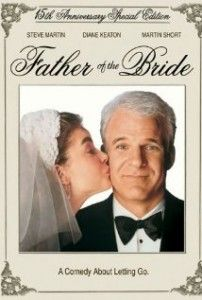 Father of the Bride.  In this remake of the Spencer Tracy classic, George and Nina Banks are the parents of young soon-to-be-wed Annie. George is a nervous father unready to face the fact that his little girl is now a woman. The preparations for the extravagant wedding provide additional comic moments.
