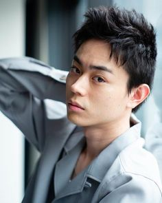 Short Wavy Hair, Japanese Boy, Asian Actors, Asian Men, Asian Beauty, Actors & Actresses, Handsome, Celebs, Singer