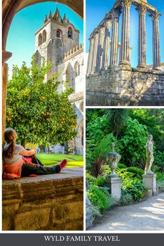 Lisbon attractions are amazing. A day trip from Lisbon can be just as amazing. From Roman Ruins in Evora to Royal Palaces in Sintra to beach life in Cascais. . . Things to see in Lisbon | Day trips from Lisbon | Visiting Sintra | Visiting Evora | What to see in Evora | Sintra castles