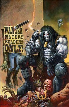 Lobo Unbound 1 Comic Art #lobo #DC #comics