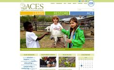 ACES, Aspen Center for Environmental Studies, work is to build a community of knowledgeable, motivated and capable environmental stewards. -- Nonprofit website by Blue Tent Marketing