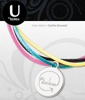 Free Generation Know Charm Bracelet From U By Kotex