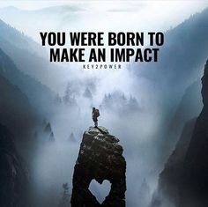 You were born to make an impact. And you did on my heart ACG .
