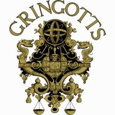 A Crafty Chick: Diagon Alley - Gringotts Wizarding Bank