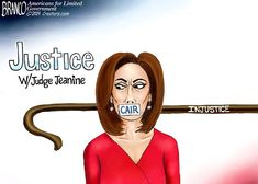 Because Jeanine Pirro had the courage criticized Ilhan Omar's antisemitic views, she's been silenced by FOX News. Political Cartoon by A. Political Cartoons, Funny Cartoons, Don 2, Jeanine Pirro, Culture War, Conservative Politics, Jokes, Humor, American