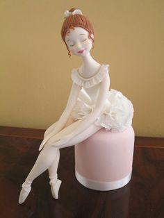 Bailarina realizada en el curso de Carlos Lischetti