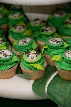 Mickey Safari Cupcakes