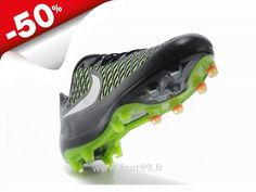 Chaussures de Foot 2014 Nike Magista Opus FG Nior Vert Blanc Magista Pas Cher Rugby, Nike Magista Obra, Baskets, Cleats, Football, Cher, Sports, Fashion, Football Boots