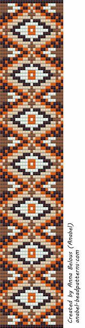 Bead pattern - loom bracelet