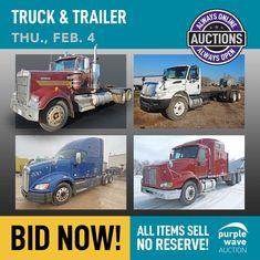 Purple Wave Auction (@purplewave) / Twitter Heavy Duty Trucks, Used Equipment, Used Trucks, Sale Promotion, Online Marketing, Tractors, Online Business, Auction, Waves