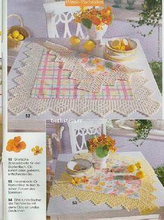 Achei muito linda, aliás, gosto muito da mistura de pano com crochê ou tricô com crochê...