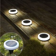 Does your outdoor walkway or backyard is really dark at night that sometimes causes stumble? We can get rid of the possibility of these incidents with this Solar-Powered LED Ring Ground Light to brigh Garden Lighting Decoration, Light Decorations, Solar Energy Panels, Best Solar Panels, String Lights Outdoor, Outdoor Lighting, Yard Lighting, Power Led, Solar Power