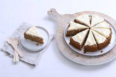 Wortel en banaan maken deze kruidige taart met kaneel lekker zoet. - Recept - Allerhande