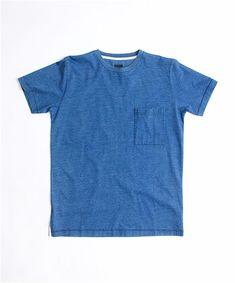 Indigo Pocket T-Shirt