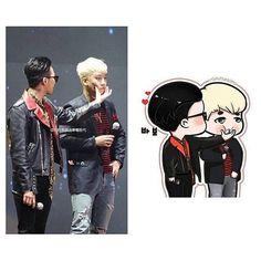 This is so cute  #seungri #gdragon #nyongtory by gri_seyo