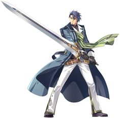 View an image titled 'Victor S. Arseid Art' in our The Legend of Heroes: Trails of Cold Steel III art gallery featuring official character designs, concept art, and promo pictures. Game Character Design, Fantasy Character Design, Character Concept, Character Art, Final Fantasy Characters, Anime Characters, Trails Of Cold Steel, Sword Poses, The Legend Of Heroes