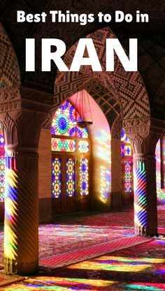 Planning a trip to Iran? Here are the best things to do in Iran and best places to visit to get you started planning your trip.**********Iran Travel | Iran Travel Tips | Travel in Iran | Iran Top Things To Do | Things To Do in Iran | Iran Travel Beauty | Iran Travel Tehran | Iran Travel Things To Do In | Iran Travel Cities | Middle East | Travel in the Middle East | Iran Culture | Iran Food | Iran Travel Wanderlust | Iran Travel Bucket Lists | Iran Tourism #iran  #irantravel