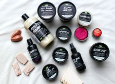 My top 8 favorite lush products!