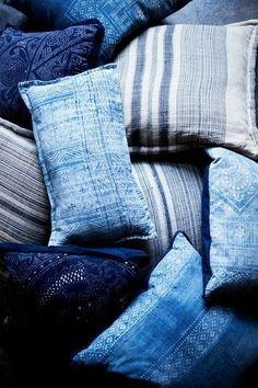 Blue room details