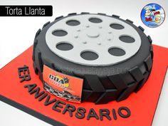 Torta corporativa - Torta Llanta - rim cake