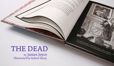 James Joyce's 'The Dead' illustrated by Robert Berry.