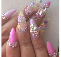 Beautiful Photo Nail Art: 38 Adorable 3d Flower Nail Designs-Ideas 2015