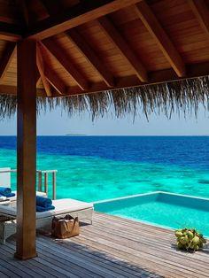 Your next remote island tropical retreat. #Maldives  Take me here someone plz&thx