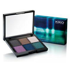 Colour Impact Eyeshadow Palette - Palette yeux, six teintes d'ombres à paupières - KIKO MAKE UP MILANO
