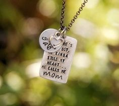 This is a great quote and I love her pieces, so sweet...I'm ordering my own Valentines gift...LOL