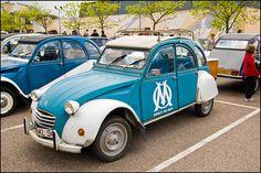 CITROEN 2CV Olympique Marseille