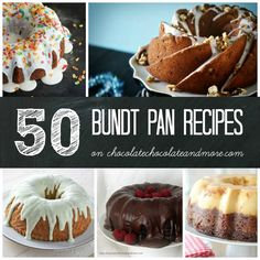 50 Bundt Pan recipes http://chocolatechocolateandmore.com/2014/06/old-fashioned-sugar-cake/