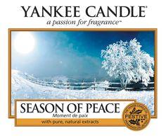 Season Of Peace - Peggys - Yankee Candle & kleinkariert Ballonwelt Fachhändler