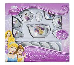 Disney Princess 13 Piece Porcelain Mini Tea Set