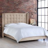 Found it at Wayfair - Nail Button Tufted Wingback Bed