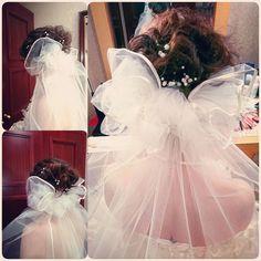「。リボンベール。 #wedding#weddinghair #weddingdress #bridal#bridalhair #bridalmakeup #hairset #hairstyle #hairmakeup #ribbon#ribbonveil#ウェディング#ウェディングヘアー…」