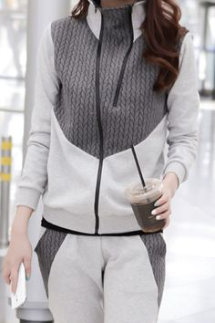 SHAMPOO LUX COTTON & KNIT JOGGER SET
